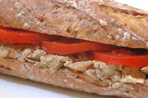 Sandwich au Foie Hâché