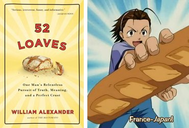 52 Loaves + Yakitate!! Japan