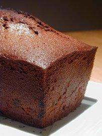 Cake au Chocolat, Abricots et Gingembre