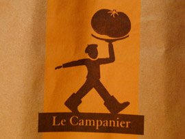 Le Campanier, a Lucky Bag of Produce