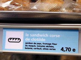 Le Sandwich Corse de Clotilde