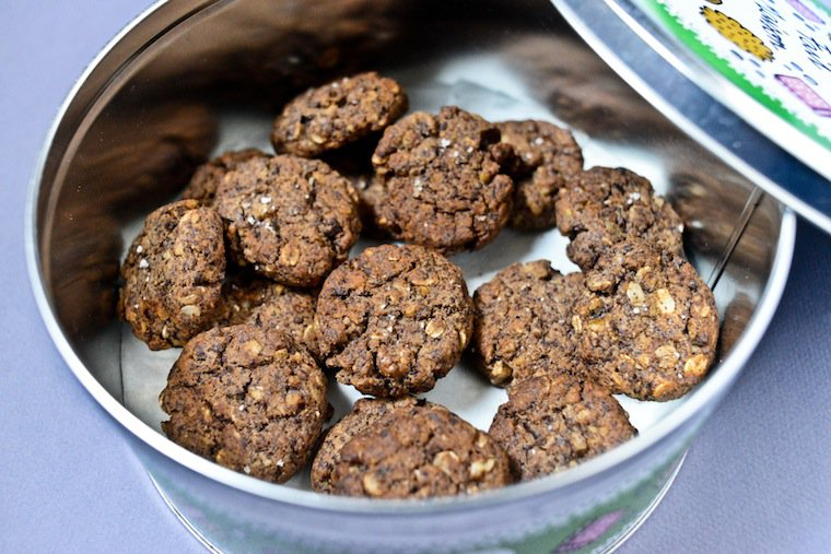 Chocolate Walnut Cookies