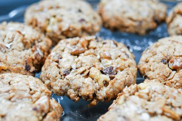 Walnut Date Cookies