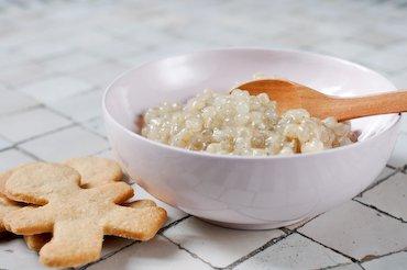 Tapioca à la vanille et au lait d'avoine