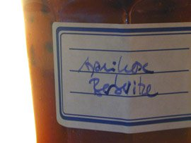 Aprikose Berberitze Marmelade