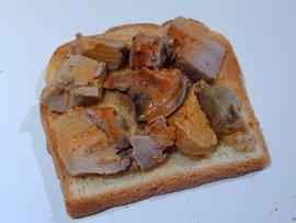 Toast de Foie de Lotte