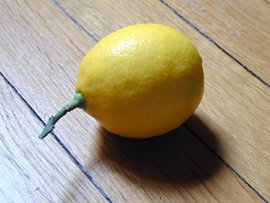 Paris-Grown Meyer Lemon
