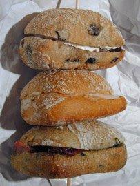 Brochette De Mini-Sandwiches
