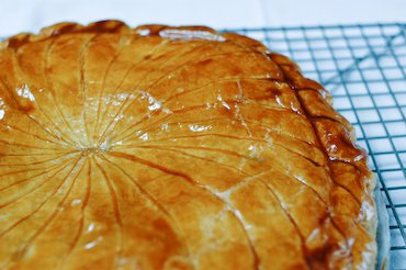 Homemade GALETTE DES ROIS | Chocolate & Zucchini