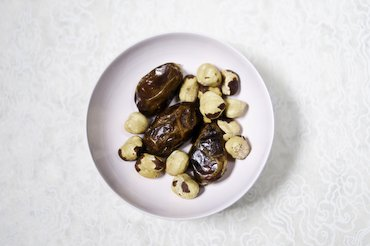 Dates and hazelnuts