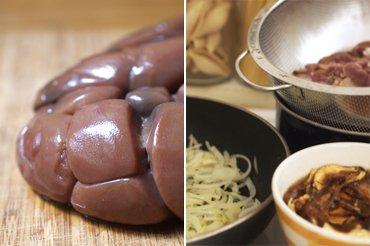 Rognons de Boeuf, Cèpes et Oignons