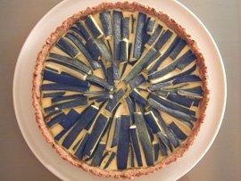 Zucchini Tart on a Hazelnut-Thyme Crust