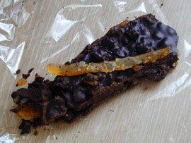 Chocolat aux écorces d'orange