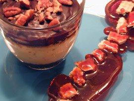Petit Pot Chocolat Vanille, Ruban de Caramel au Petit Beurre