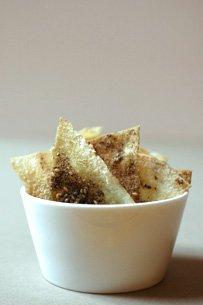 Chips de Pita au Zaatar