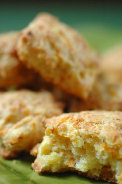 Carrot Rosemary Scones