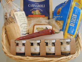 Basket of Treats from Italy
