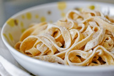 Homemade Pasta Recipe Fresh Fettuccine