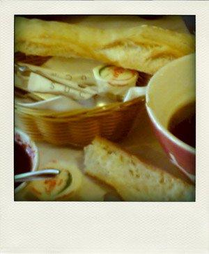 Café et tartines