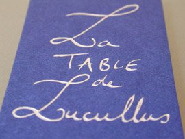 La Table de Lucullus