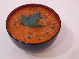 Soupe de Châtaigne au Chorizo