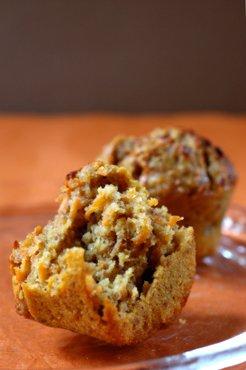 Muffins Carotte Cacahuète