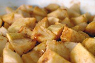 Pommes et Poires aux Caramels