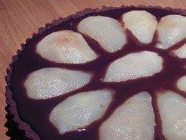 Tarte Chocolat Poire Chocolat