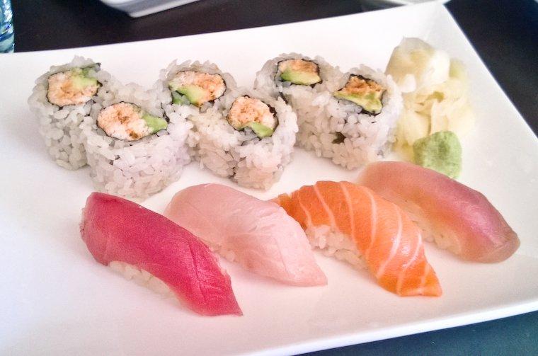 Menu déjeuner chez Saru