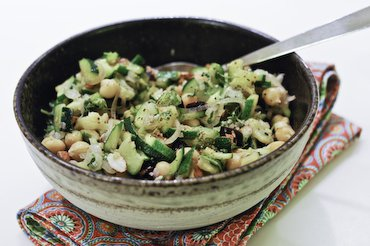 Zucchini and Chickpeas