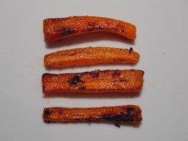 Frites de Carottes aux Epices