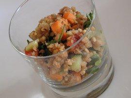 Salade de Sarrasin au Pain d'Epice
