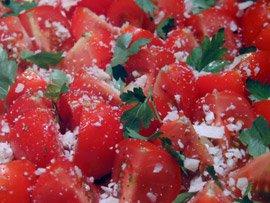 Petites Tomates au Pecorino