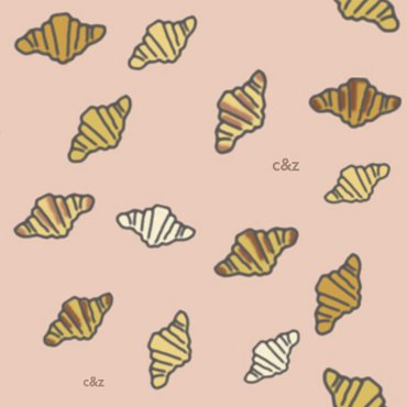 Croissants (pink)