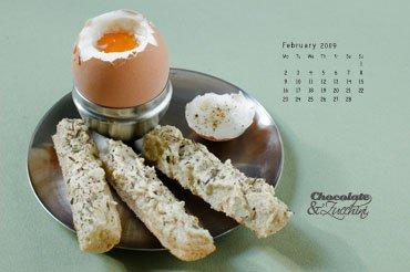 February '09 Desktop Calendar