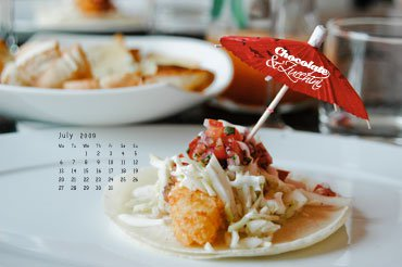 July '09 Desktop Calendar