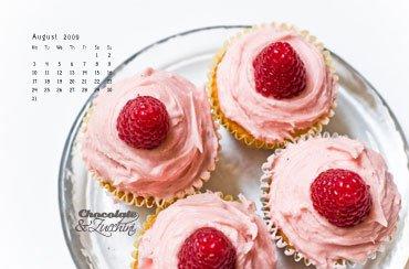 August '09 Desktop Calendar