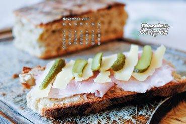 November '09 Desktop Calendar