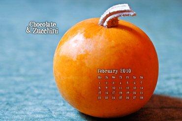 February '10 Desktop Calendar
