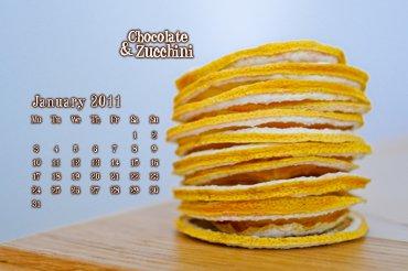 January 2010 Desktop Calendar