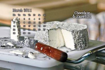 March 2010 Desktop Calendar