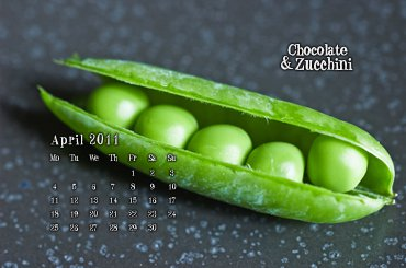 April 2011 Desktop Calendar
