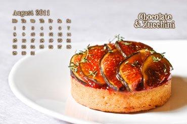 August 2011 Desktop Calendar
