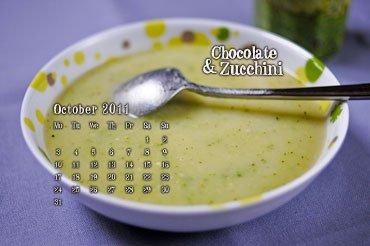 October 2011 Desktop Calendar