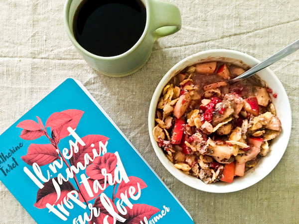 Breakfast with a good book