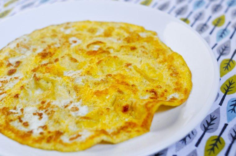 Omelette à un oeuf
