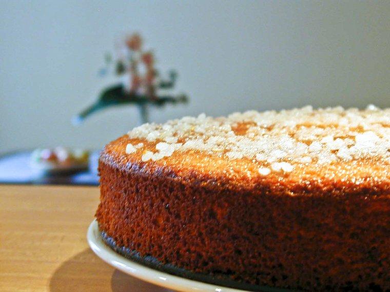 Gâteau à l'orange et au gingembre Recette