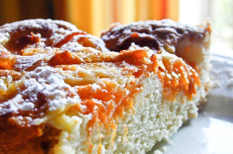 Coffee cake à l'abricot