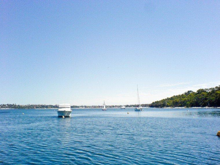 Sur la Swan River à Perth