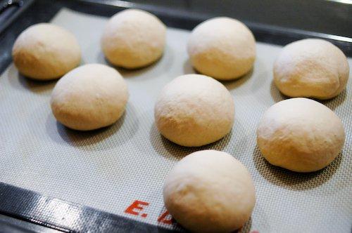 Bagels au levain - Pâtons